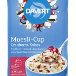 Müsli-Cup Cranberry-Kokos