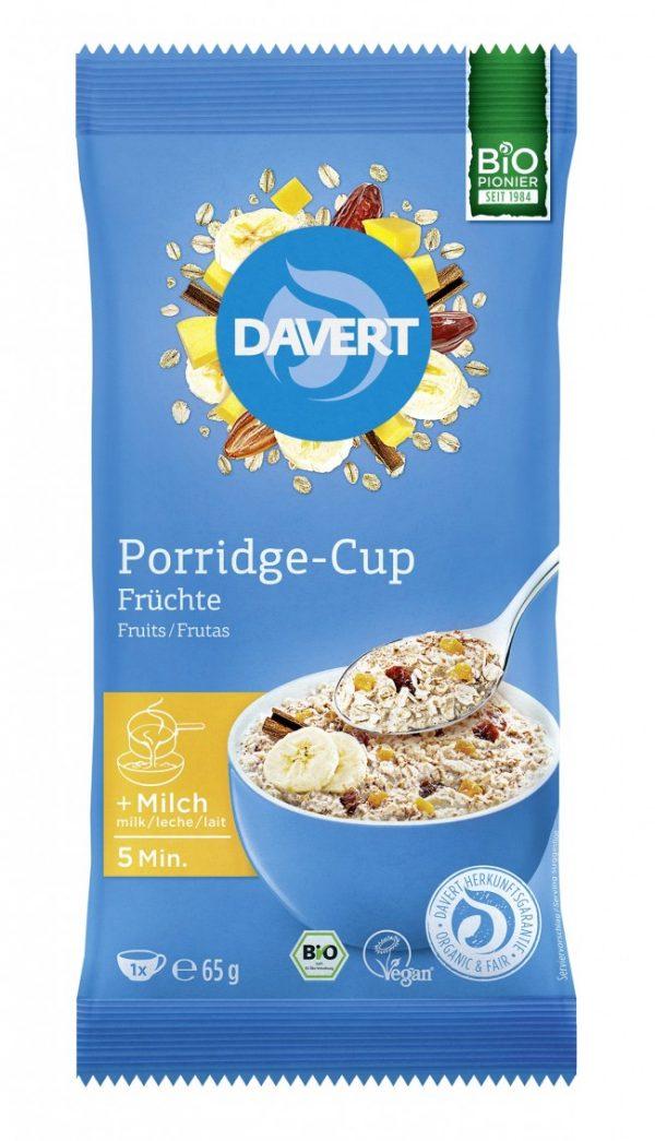 Porridge-Cup Früchte