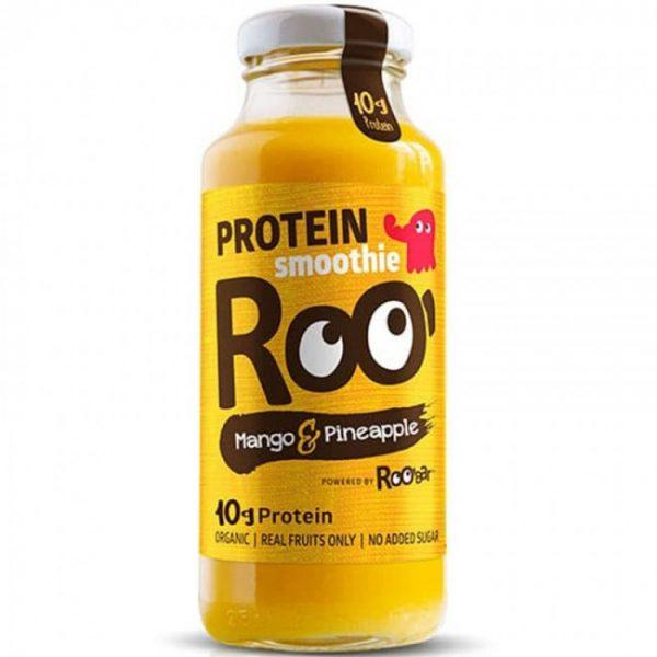 Protein-Smoothie Mango und Ananas