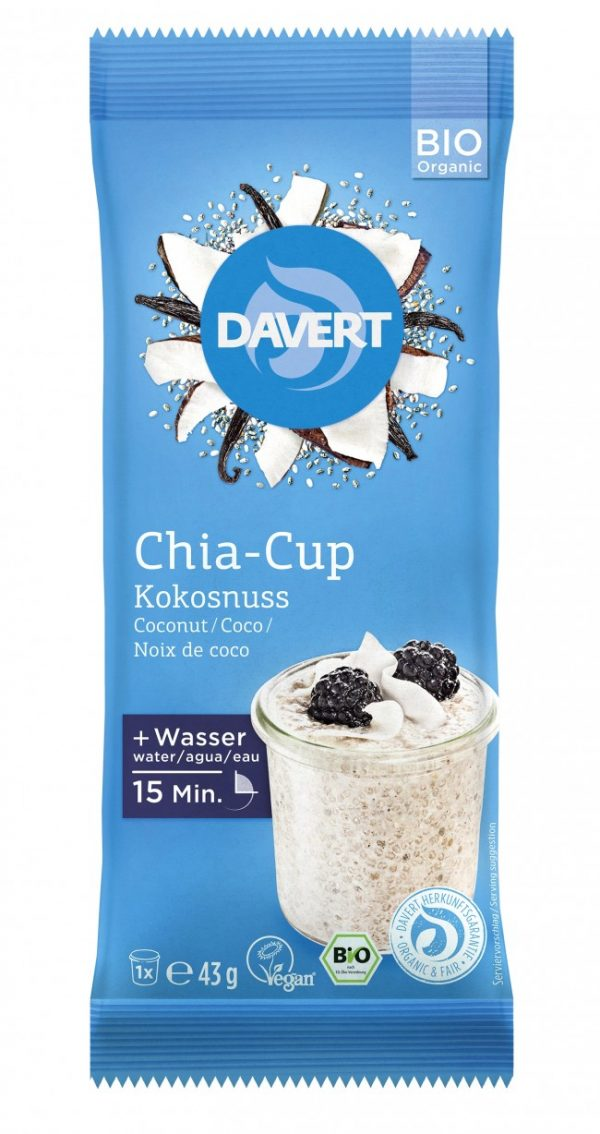 Chia-Cup Kokosnuss