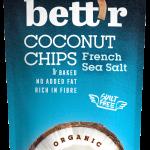 Bio Kokosnusschips mit Meersalz 40g