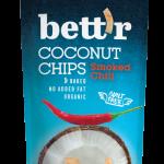 Bio Kokosnusschips Smoked Chili 40g
