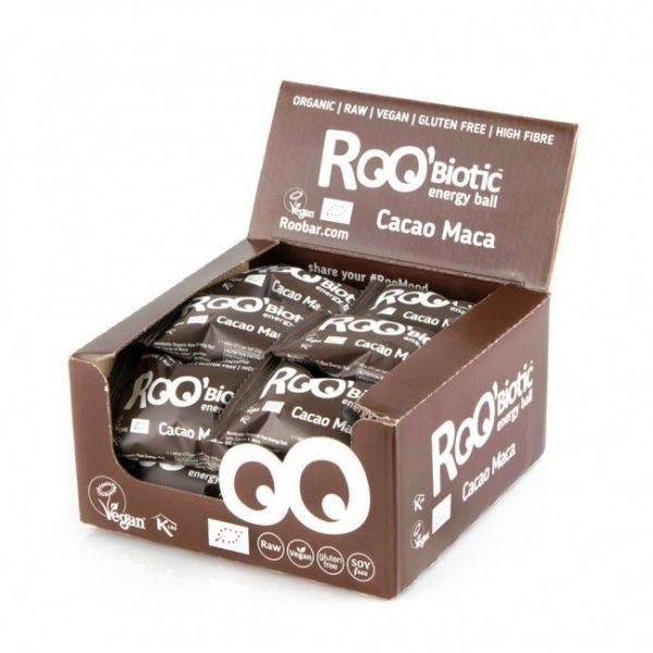 RooBiotic Energy Ball Cacao Maca 22g