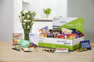 Geschenkbox gesunde Snacks